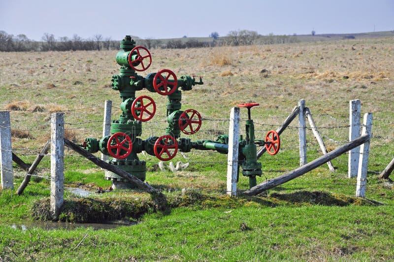 gasrør royaltyfri foto