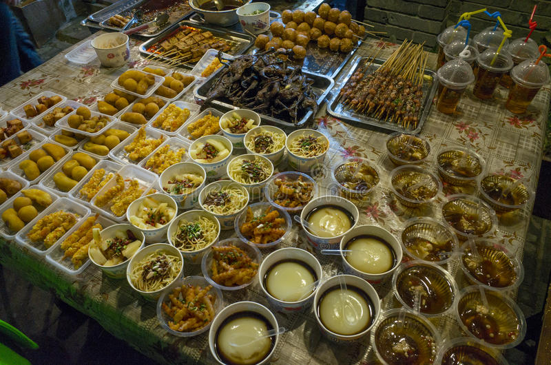 Gasse Chengdus Kuanzhai stockbild