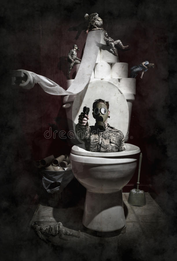 Download Gassed stock photo. Image of toilet, commode, mask, restroom - 37150662