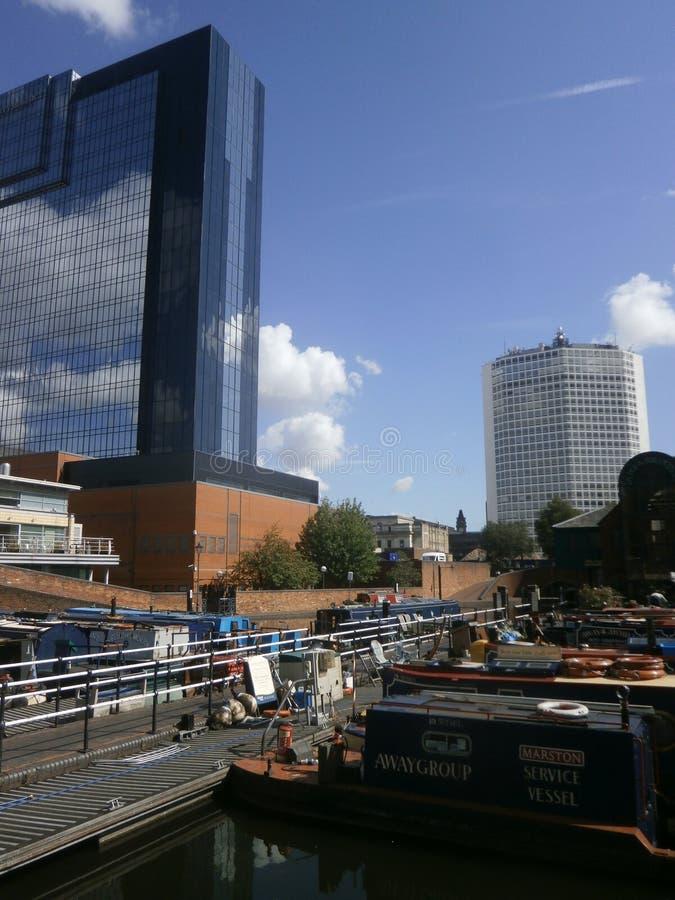 Gasstraat Birmingham stock afbeelding
