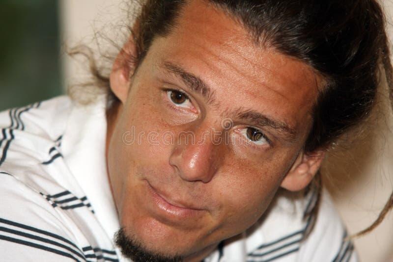 GASTÓN GAUDIO, JUGADOR DE TENIS DEL ATP fotos de archivo