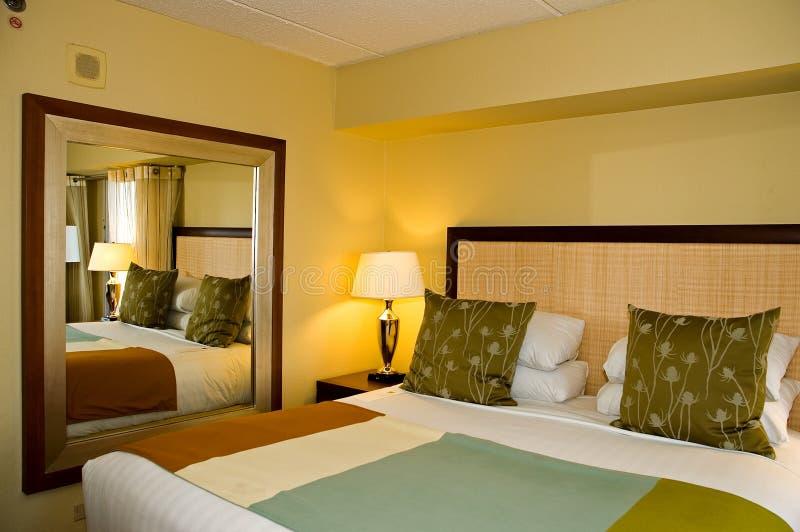 Gast slaapkamer-3 van de luxe royalty-vrije stock foto