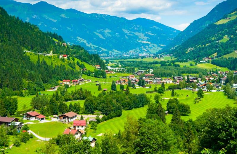 Gastein dal från dåliga Gastein royaltyfri fotografi