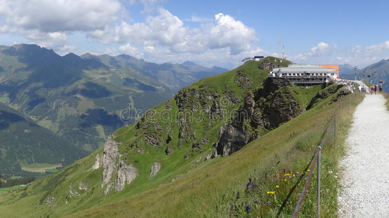 Gastein ruim Almorama, Salzburg, Áustria imagem de stock royalty free