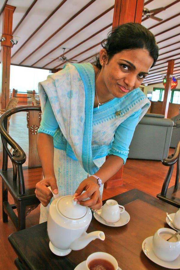 Gastfreundschaft Sri Lankan stockfoto