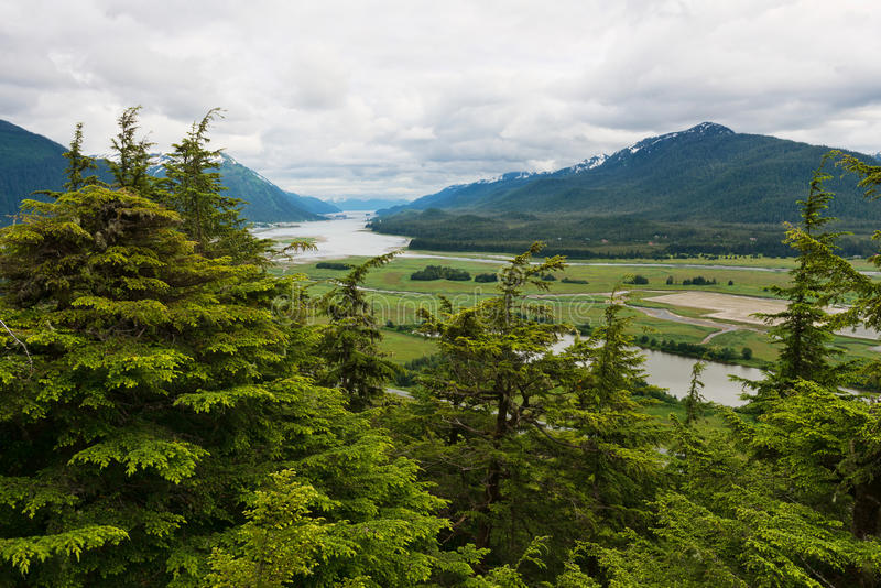 Gastineau Channel Stock Photo