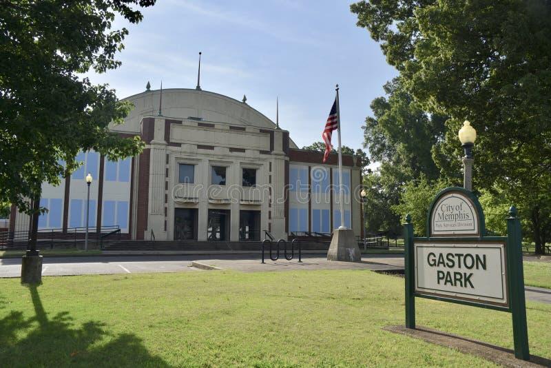 Gaston Park Branch Library, Memphis, TN imágenes de archivo libres de regalías