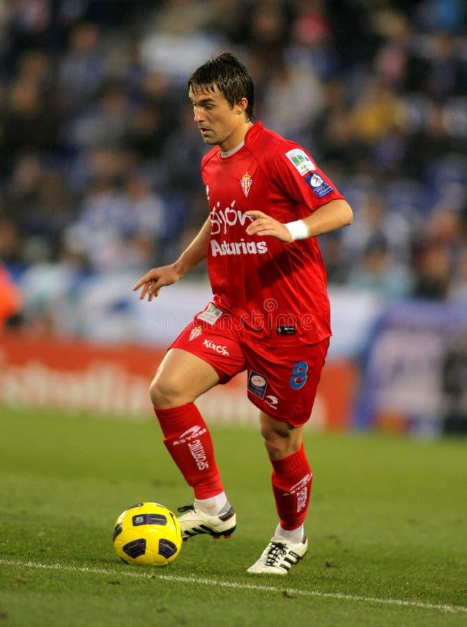 Download Gaston Sangoy Of Sporting Gijon Editorial Stock Photo - Image: 17326613