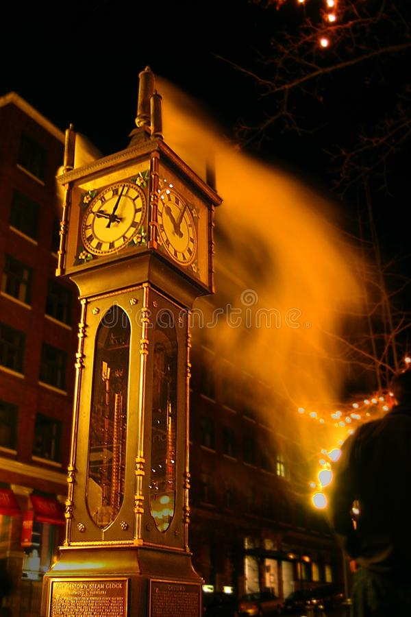 Gastown Steam Clock. In vancouver, BC, Canada royalty free stock photography