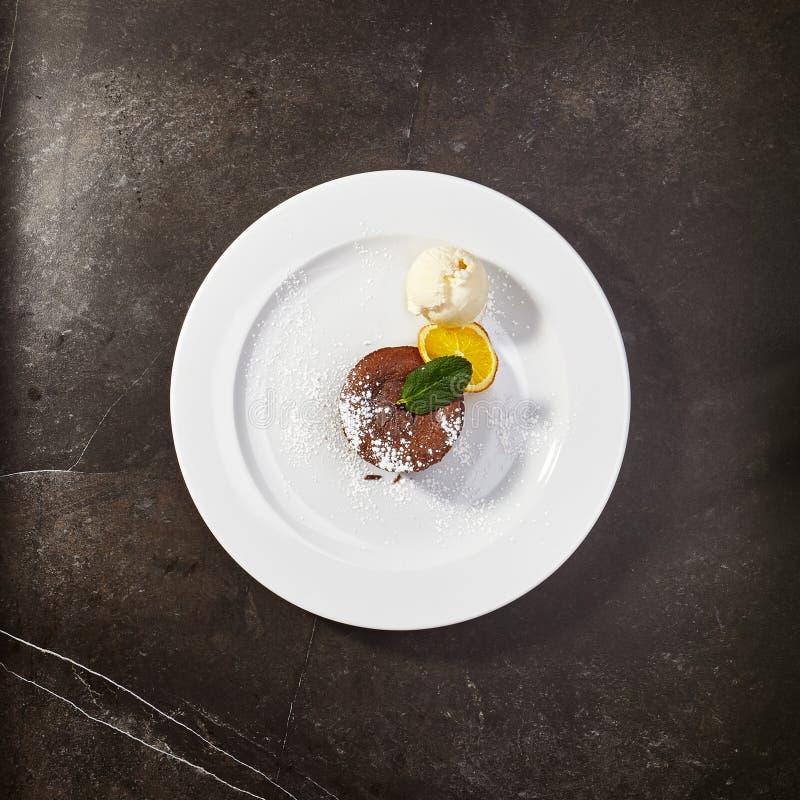 Gastronomic menu of luxury restaurant royalty free stock photography