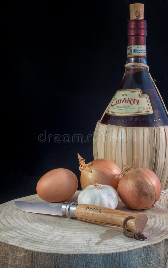 A gastronomic scene stock images