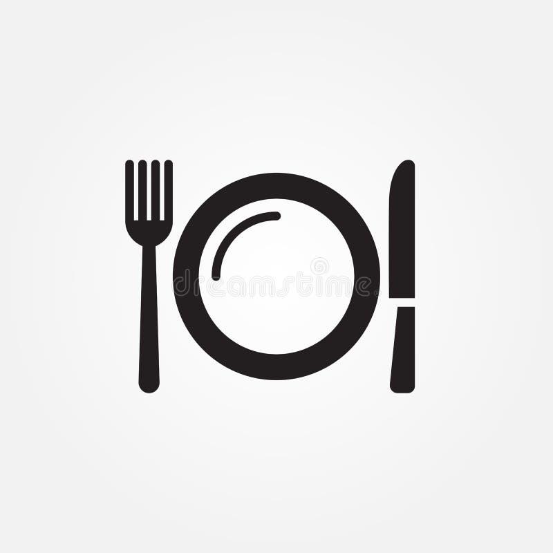 Gastronomii wektorowej ikony ilustracyjny graficzny projekt ilustracja wektor