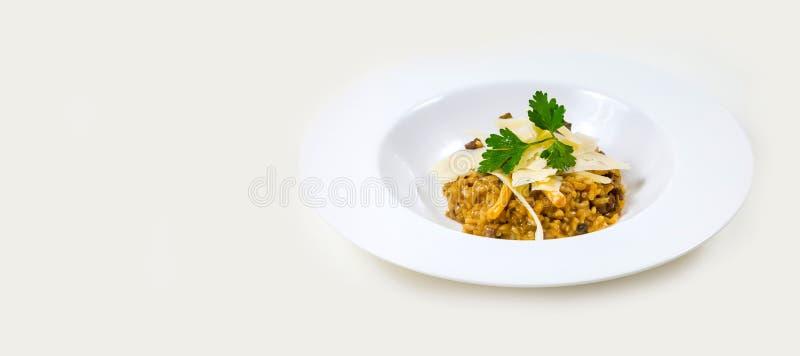 Gastronomisch Barvoedsel op een witte achtergrond royalty-vrije stock afbeeldingen