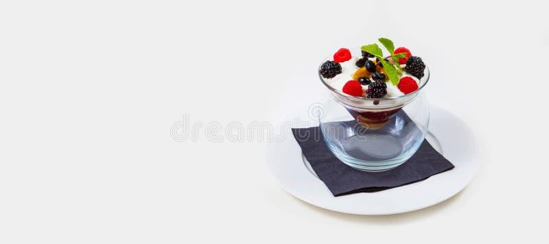 Gastronomisch Barvoedsel op een witte achtergrond royalty-vrije stock fotografie