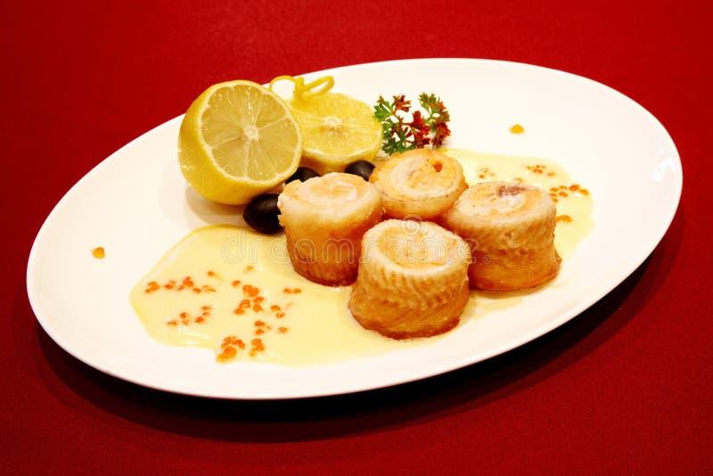Gastronomisch overzees voedsel royalty-vrije stock foto's