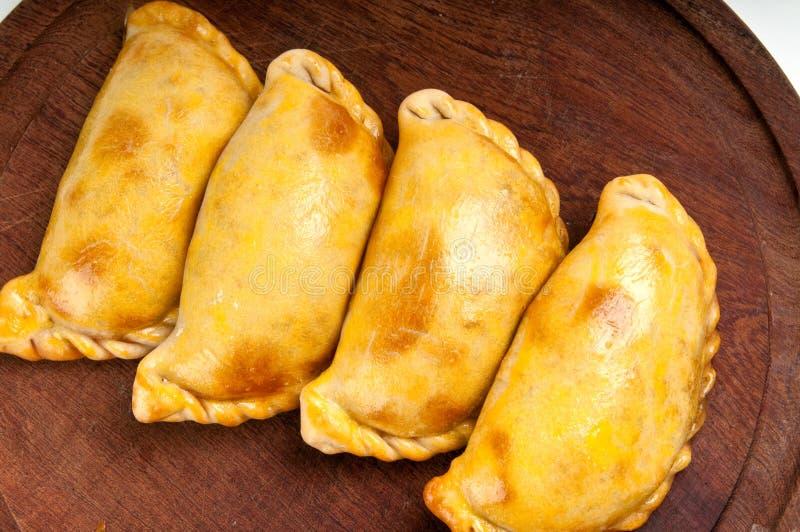 Gastronomische Empanada royalty-vrije stock foto's