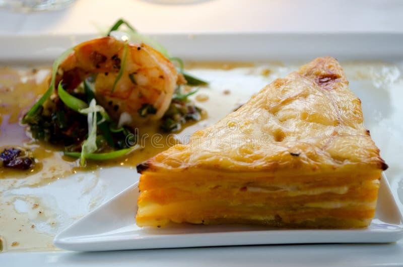 Gastronomische lunch royalty-vrije stock fotografie