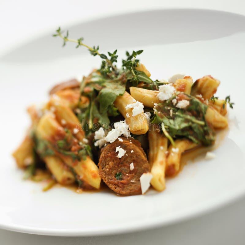 Gastronomische maaltijd. royalty-vrije stock afbeeldingen