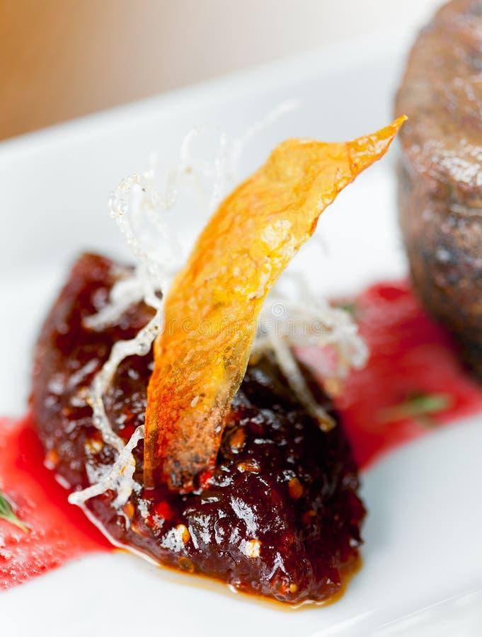 Gastronomische Mosterdsaus Stock Foto's