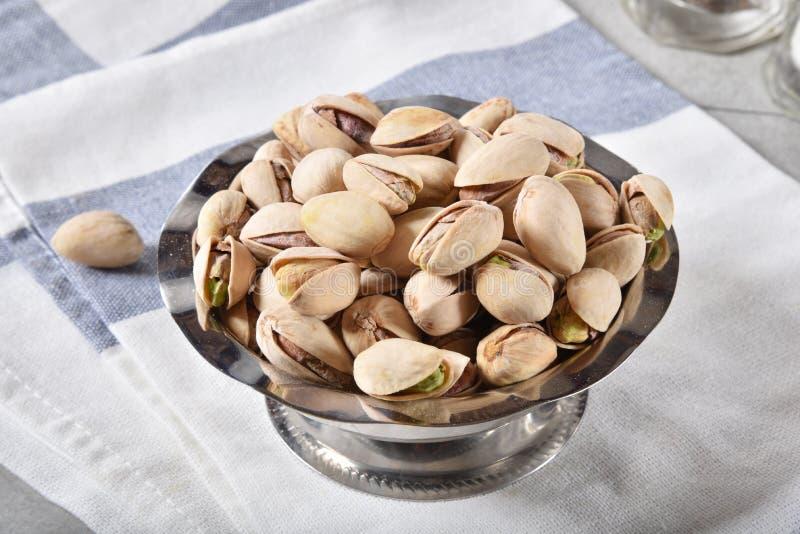 Gastronomische pistaches royalty-vrije stock foto's