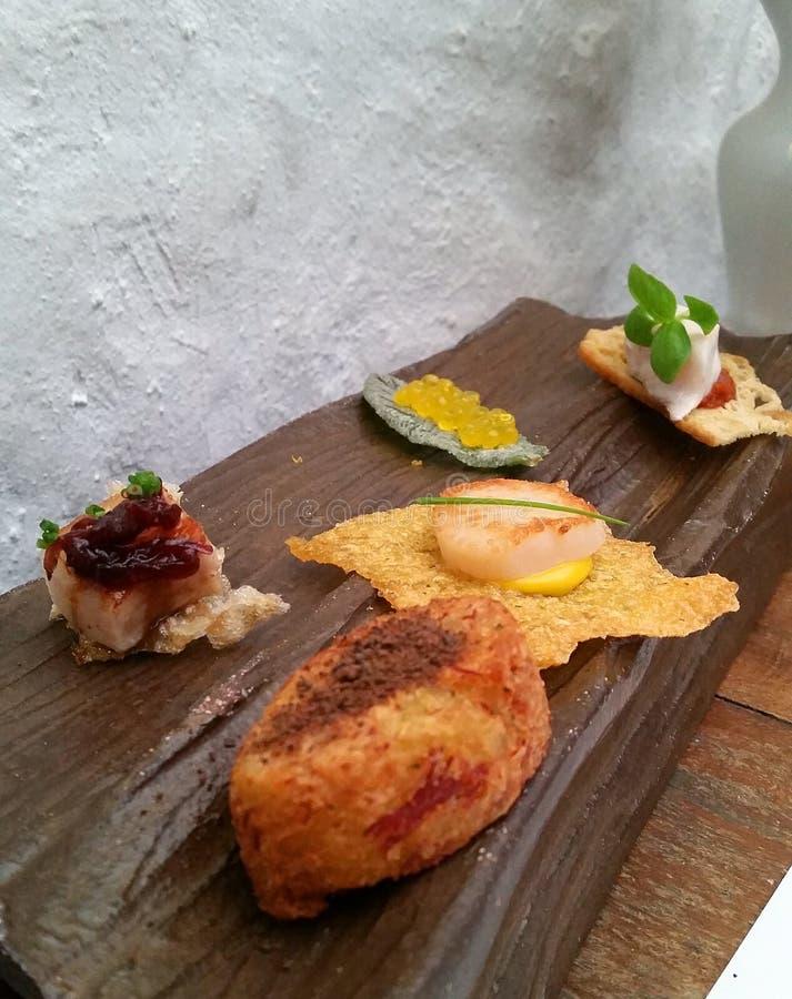 Gastronomiskt och gourmet- royaltyfri fotografi