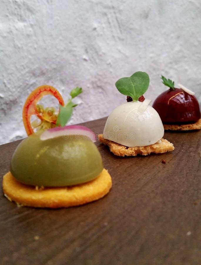 Gastronomiskt och gourmet- royaltyfri bild
