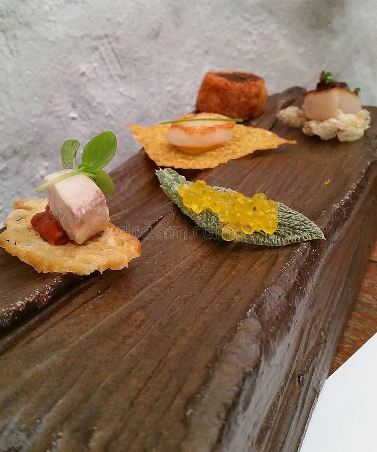 Gastronomiskt och gourmet- royaltyfria bilder