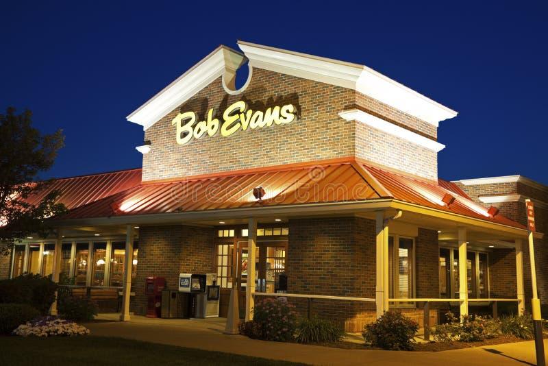 Gaststätte Bob-Evans stockfotos