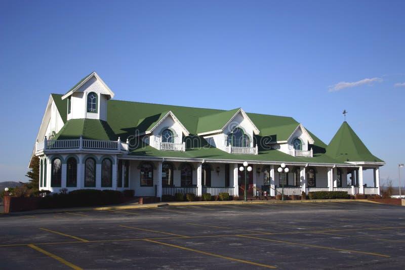 Gaststättegebäude stockbild