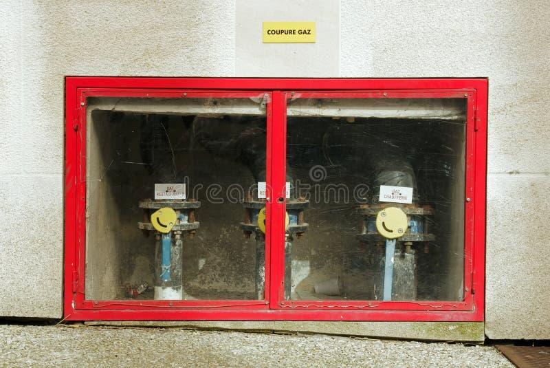Download Gasversorgungmitte stockfoto. Bild von ankunft, außen - 26370930