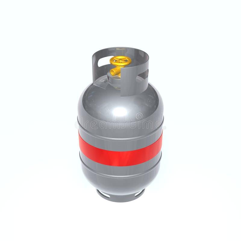 Gaszylinder stock abbildung