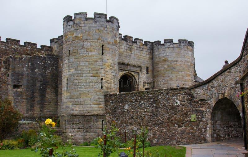 Gat principale di Stirling Castle immagine stock