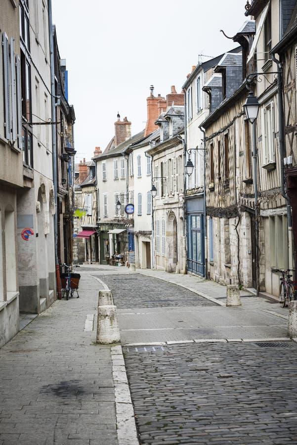Gata av Bourges, Bourges, Frankrike royaltyfri bild