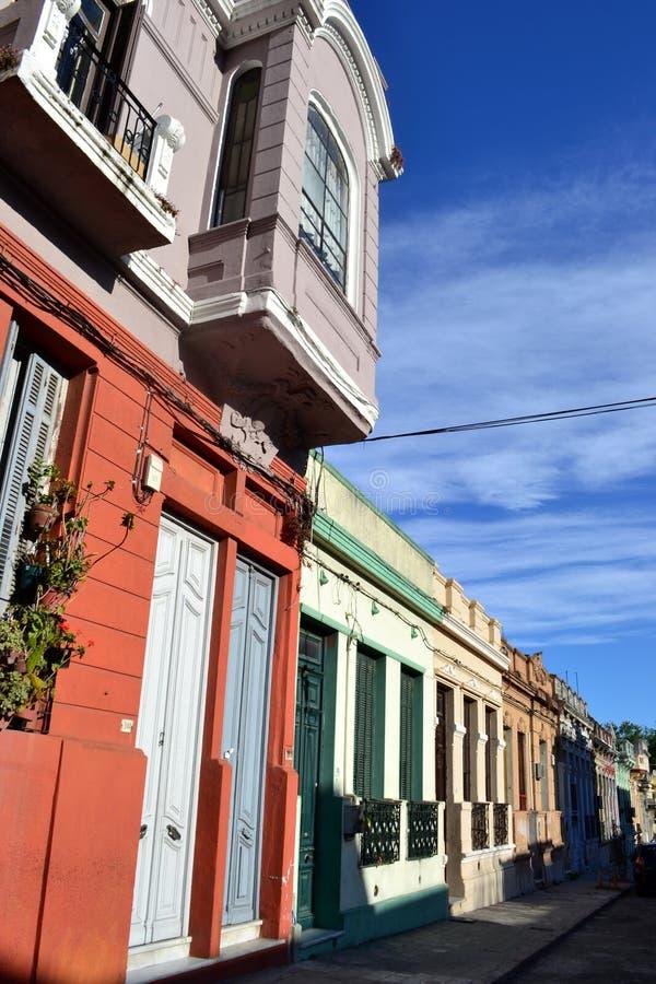 Gata av Montevideo arkivbild