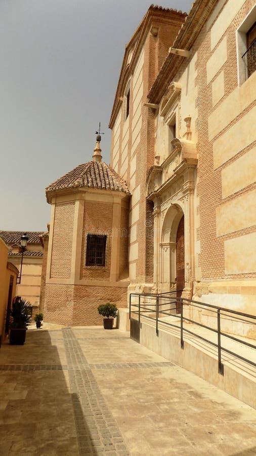 Gata av Velez Rubio - Almeria-Spanien royaltyfri bild