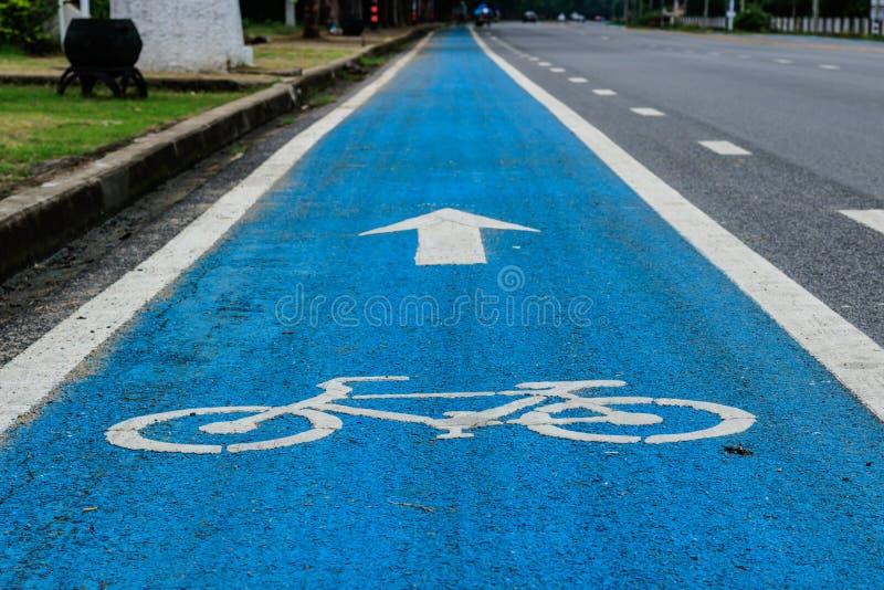 gata för bana för basanaviciauscykelpalanga arkivfoto