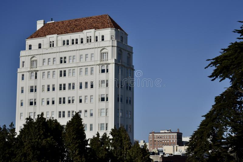 Gata för 2500 Steiner, San Francisco, byggnaden för Susie ` s royaltyfria foton