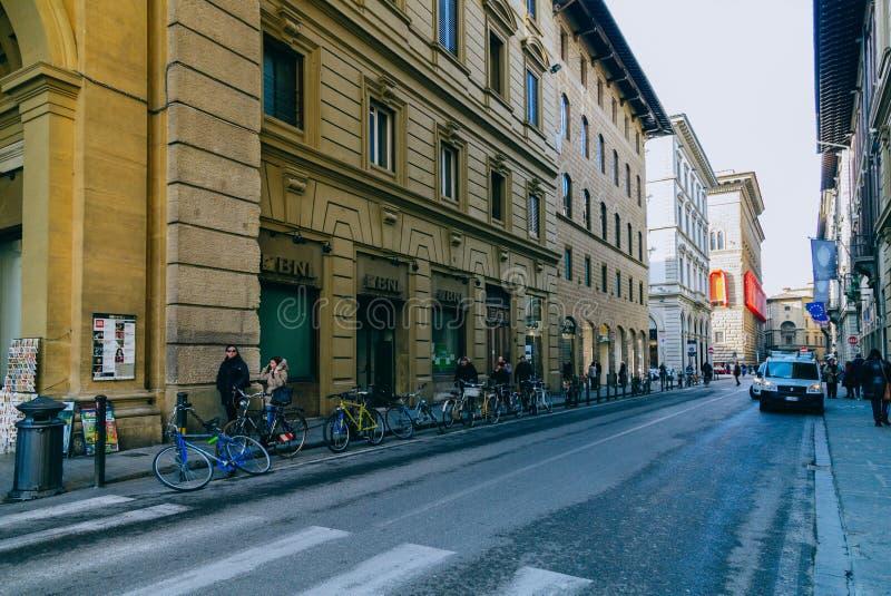 Gata Florence arkivfoton