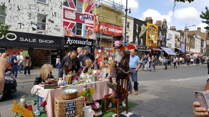 Gata från london royaltyfria bilder