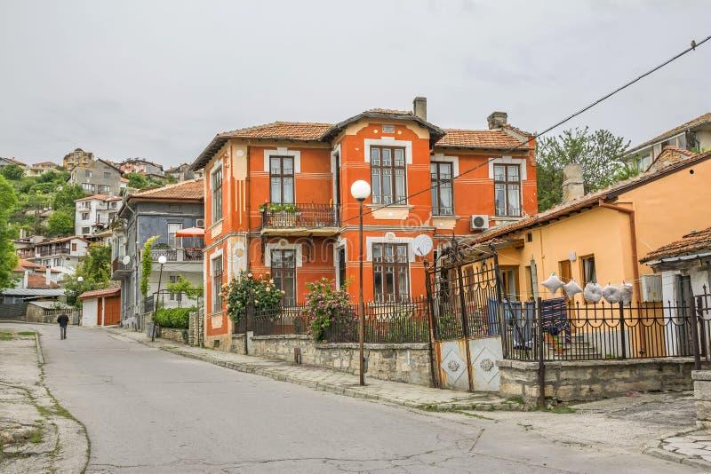 Gata i Balchik, Bulgarien royaltyfri foto
