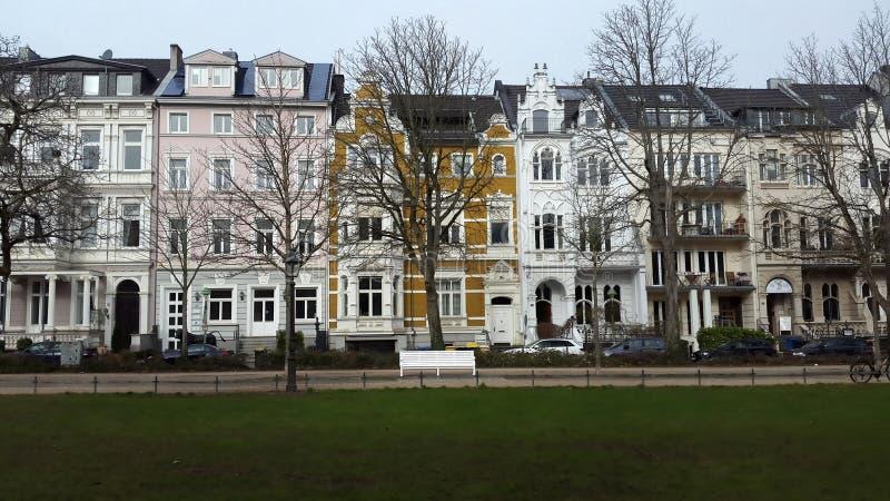 Gata i Bonn royaltyfria foton