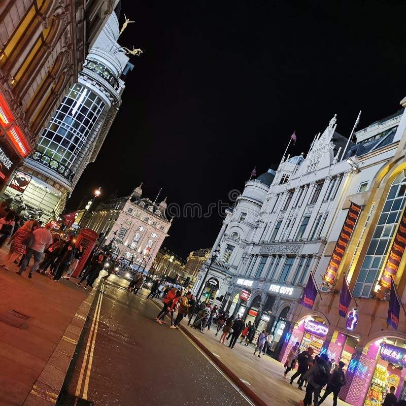Gata i London arkivfoto