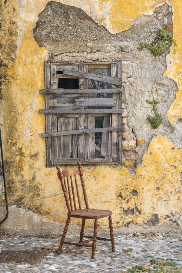 Gata i Rhodes den gamla staden, Grekland arkivbilder
