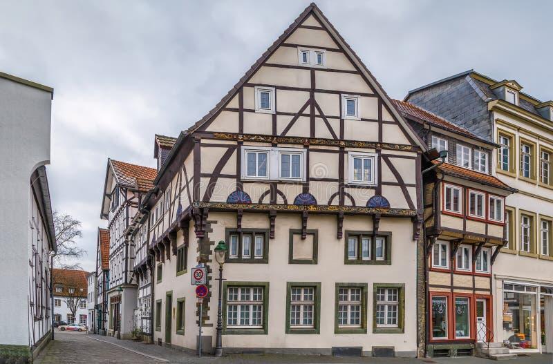 Gata i Soest, Tyskland royaltyfri bild