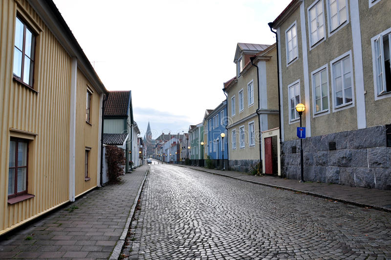 Gata i Sverige arkivfoton