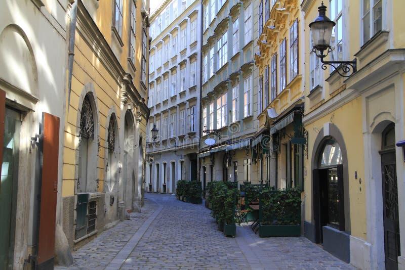Gata i Wien arkivbilder
