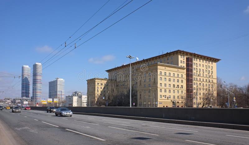 Gata Mira Avenue royaltyfri foto