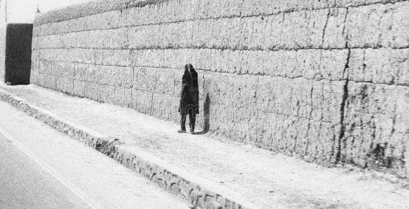 Gata- och byliv i Gardez i Afghanistan i sommaren royaltyfri fotografi