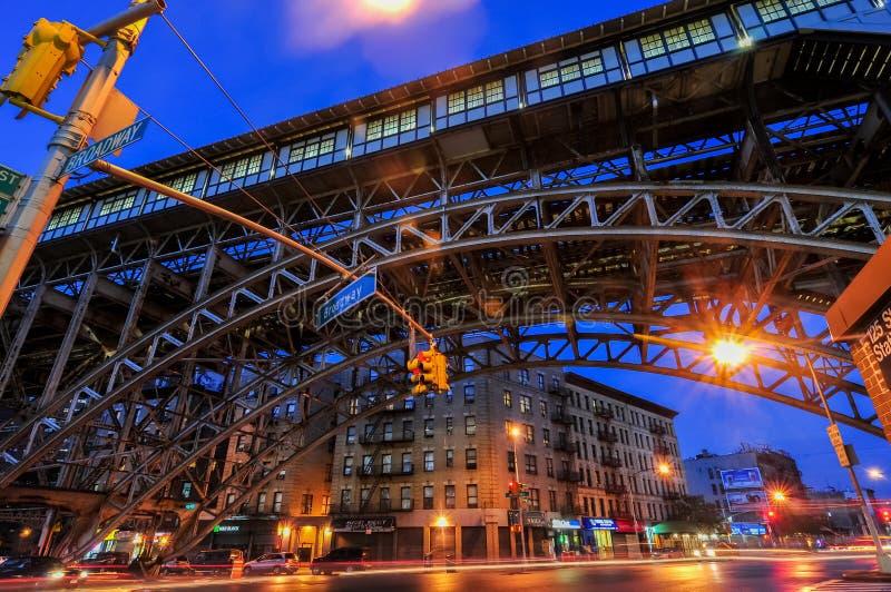 125. gatagångtunnelstation - New York City royaltyfria foton