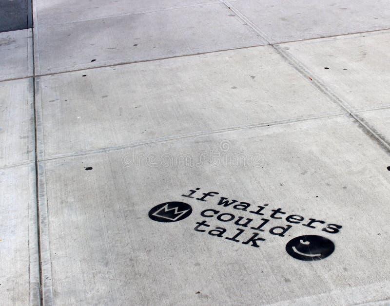 Gatakonst på NYC-kultur royaltyfri fotografi